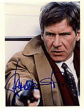 FORD HARRISON: (1942- ) American Actor. Signed