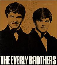 EVERLY BROTHERS THE: A printed 4to souvenir