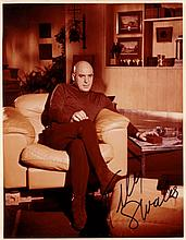 SAVALAS TELLY: (1922-1994) American Actor. A good