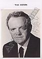 Cinema Autographs: HEFLIN VAN, (1910-1971)