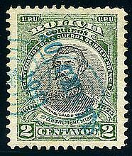 Bolivia, 1911, Villa Bela 20c on 2c provisional surcharge