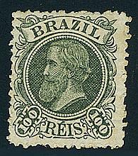 Brazil, 1881, Emperor Pedro (