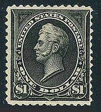 USA, 1894, $1 black, type II