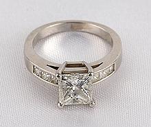 Lady's Diamond, Platinum Ring