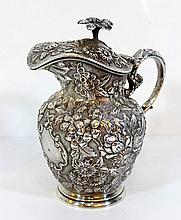 Sterling silver milk jug