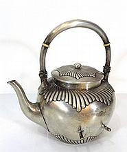 German 800 silver teapot