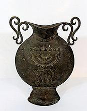 Bronze jug by Szlagman, Jerusalem