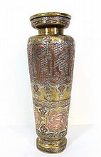 Damascene vase