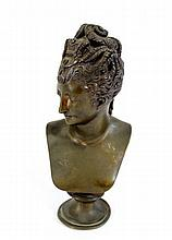 French bronze figurine