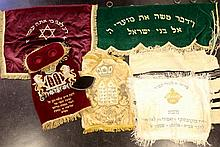 Lot of Jewish textile items