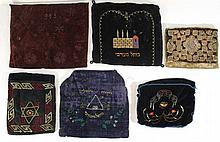 Lot of six Tefillin bags