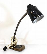 Vintage metal table lamp