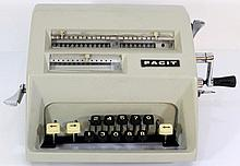 Vintage calculating machine