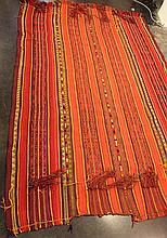 Antique Bedouin carpet
