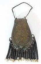 African bronze money bag