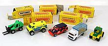 Lot of 82 Matchbox toy cars