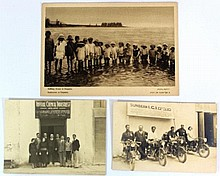 Lot of two photographs and one printed photo, Eretz Israel