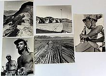 Lot of five photographs by Miriam (Marly) Shamir