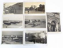 Lot of early photographs of Haifa and Nahariya