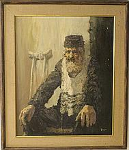 William Weintraub, an old Jewish man