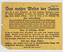 Anti-Semitic card in German