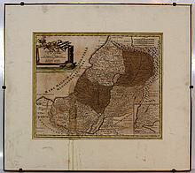 Map of the Holy Land by Christoph Weigel, 1724