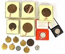 Lot of Israeli medals tokens and coins