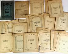 Lot of Dvar Torah pages by Rabbi Joel of Satmar