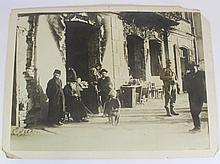 Photo of Jews in a street in Radomyshl, Ukraine