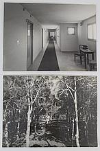 Lot of two photographs taken by Greta and Charlotta Meir