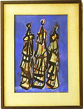 Samuel Rayoni (1905-1995), three women