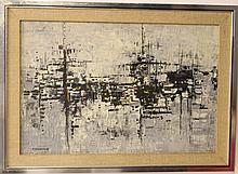 Ephraim Modzelevich (1931-1995), abstract