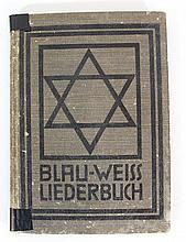 Jewish German song book