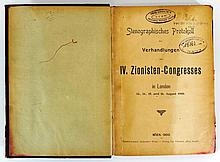 Protocol of the IV Zionist Congress in London