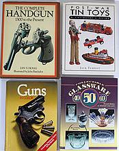 Lot of four books on collectible items
