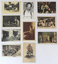 Lot of photographs with Jewish North African figures