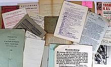 Lot of documents regarding Judaism and Jewish communities