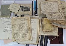 Lot of personal documents of Israel Waks (1905-1991), Hatzohar movement