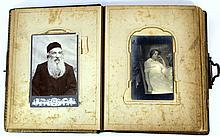 Album with photographs of a Jewish family