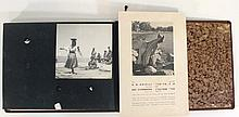 Lot of photographs of the Israeli Yemenite dancer Rachel Nadav