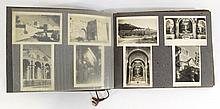 Album with early pictures of Jerusalem