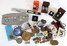 Lot of Israeli lapel pins and emblems