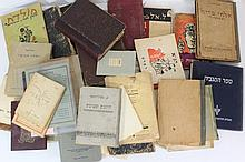 Lot of books and booklets related to Judaism