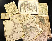 Lot of 19th century maps