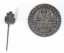 Lot of two lapel pins by Bezalel