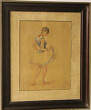 Unidentified artist, a dancer