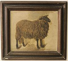 Unknown artist, a sheep