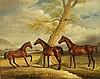 Unidentified artist, horses