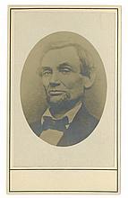 Abraham Lincoln - 16th U.S. President - Carte-de-visite, 19th Century Photograph
