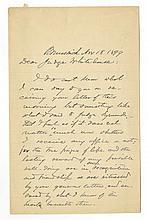 Joshua Lawrence Chamberlain - Civil War Union General - Autographed Letter (ALS)